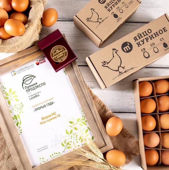 Яйца и сертификат М2