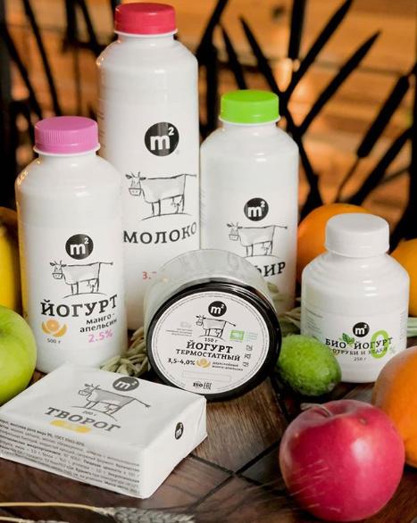 Молочные продукты фермы М2